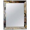 Venetian Style Smoked Glass Mirror