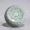 Korean Celadon Glazed Ceramic Covered Box