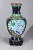 Chinese Cloisonne Enameled Vase