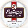 1957 Esslinger Premium Beer 12 inch Serving Tray