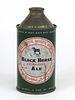 1956 Canada Black Horse Ale 12oz High Profile Cone Top