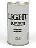 1978 Generic Light Beer 12oz Tab Top T87-27