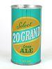 1969 20 Grand Cream Ale 12oz Tab Top T132-10