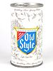 1971 Old Style Light Lager Beer 12oz Tab Top T75-22