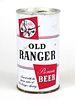1965 Old Ranger Beer 12oz Tab Top T102-24