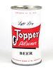 1966 Topper Pilsener Beer 12oz Tab Top T130-34