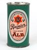 1955 Rainier Old Stock Ale 12oz Flat Top 117-27