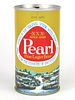 1969 Pearl Lager Beer 12oz Tab Top T107-24