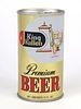 1970 King Kullen Premium Beer 12oz Tab Top T84-34