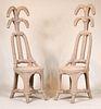 Pair of Christian Astuguevielle Chairs