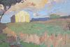 Clinedinst, Oil on Canvas of Barn