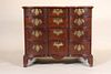 Chippendale Mahogany Block Front Chest