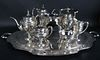 """Barbour Sterling """"Cellini"""" Tea and Coffee Service"""