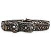 Antique Russian Silver Niello Belt