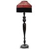Fringed Shade Tall Floor Lamp