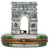 Limoges Arc de Triomphe Porcelain Box