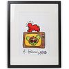 After Keith Haring Framed Art Print
