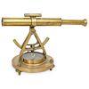 Vintage Brass Survey Instrument