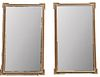 Pair of Palace Sized Gilt Wall Mirrors