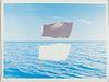 "Joe Breidel ""Fragments from the Sea"" Mixed Media Collage"