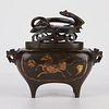 Chinese Ming Wanli Bronze Censer