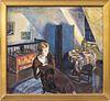 Marian D. Harris Portrait of a Woman Oil on Canvas