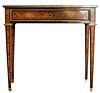 Louis XVI Inlaid Writing Table