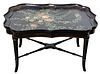 English Paint Decorated Coffee Table