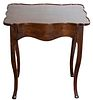 French Provincial Style Mahogany Side Table