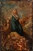 """Attributed to CORRADO GIAQUINTO (Italy, 1703 - 1765/66). """"Santa Maria of the Head."""" Oil on canvas. Relined."""