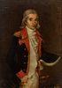 "Novo-Hispanic master or Puerto Rico, ca. 1790. ""Possible portrait of Cosme Damián de Churruca"". Oil on canvas. Relined"