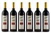 Six Elderton bottles, vintage 2000. Elderton Wines. Category: Syrah red wine. Nurioopta, Barossa Valley (Australia). Level: A. 750 ml.