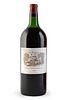 A Magnum bottle of Château Lafite Rothschild, vintage 1963. Category: red wine. Pauillac, Bordeaux (France). Level: B-C. 1,5 L.