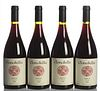 Four bottles Clonakilla Shiraz Viognier 2001. Category: Red wine. Murrumbateman, Australia. Level: A.