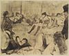 Edgar Degas (After) - Au Salon II