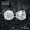 10.09 carat diamond pair Round cut Diamond GIA Graded 1) 5.08 ct, Color F, VVS1 2) 5.01 ct, Color F, VVS2. Appraised Value: $1,620,600