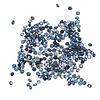 Lote de zafiros corte redondo distintas calidades 10.01 ct. 268 piezas.