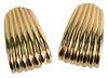 Pair of 14 Karat Gold Rotkel Earrings, clip on, 27.8 grams.