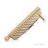 Cartier 14kt Gold Pocketknife
