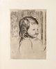 Pierre Auguste Renoir - Buste d'enfant tourne a droite