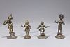 Group of Four Antique Indian Figures