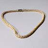 Marchisio 18k Yellow Gold Necklace