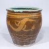 Chinese Ceramic Dragon Jar