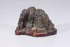 Antique Chinese Miniature Scholars Rock