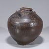 Chinese Yuan Dynasty Glazed Jar