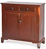 Pennsylvania painted pine jelly cupboard, 19th c.