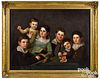 Bass Otis, oil on canvas family portrait
