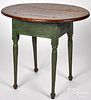 New England painted maple and pine tavern table