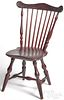 Pennsylvania painted child's Windsor chair