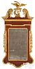Mahogany and giltwood constitution mirror